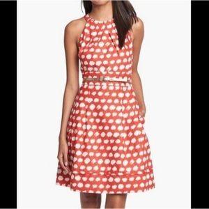 Eliza J from Nordstrom polka dot dress